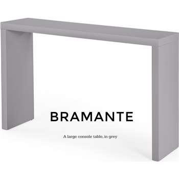 Bramante Large Console Table, Grey (80 x 130cm)