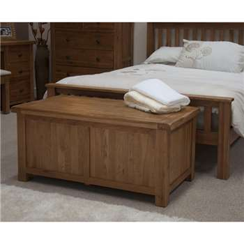 Bramley Oak Blanket Box (49 x 109cm)