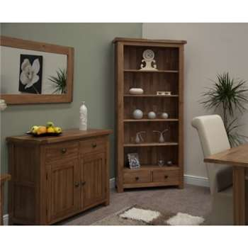 Bramley Oak Bookcase (190 x 89cm)