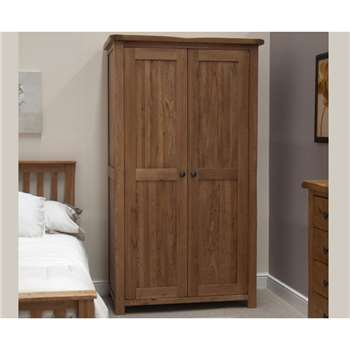 Bramley Oak Double Wardrobe (190 x 109cm)