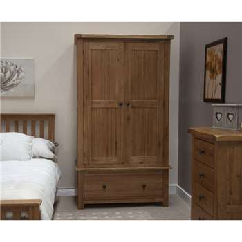 Bramley Oak Gents Wardrobe (190 x 109cm)