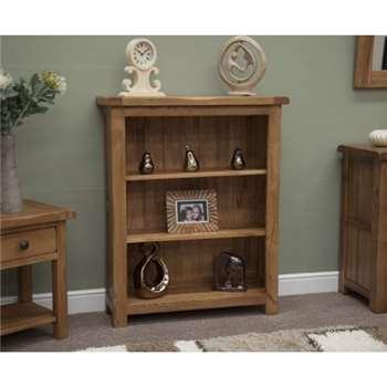 Bramley Oak Small Bookcase (109 x 89cm)