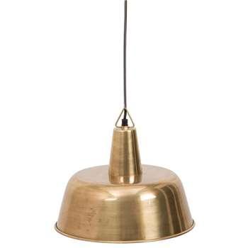 Dutchbone Brass Freak Pendant Lamp (H172 x W31 x D31cm)