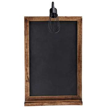 BRASSERIE slate wall light (77 x 45cm)