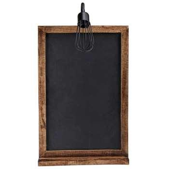 BRASSERIE slate wall light (77 x 45cm)