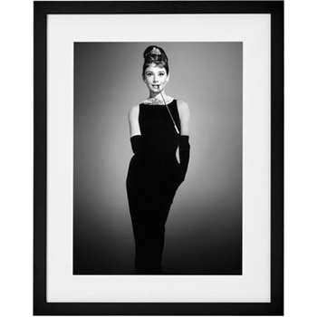 Breakfast At Tiffany's, 1961, Audrey Hepburn, Print (50 x 40cm)