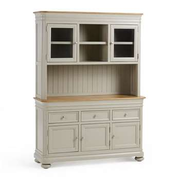 Brindle Natural Solid Oak & Painted Large Dresser (H190 x W139 x D43cm)