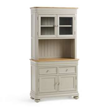 Brindle Natural Solid Oak & Painted Small Dresser (H190 x W98 x D43cm)