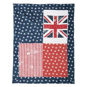 Britain throw (160 x 130cm)