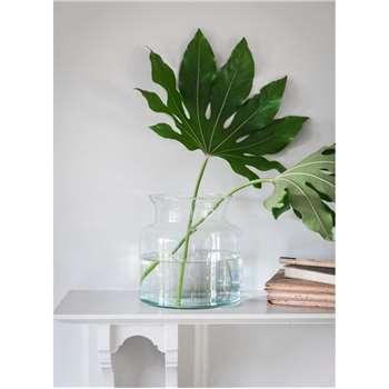 Broadwell Vase, Medium - Recycled Glass (25 x 19cm)