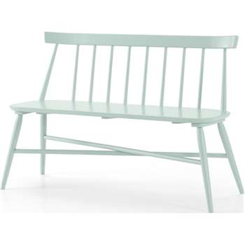 Bromley Dining Bench, Mint (H82 x W124 x D50cm)