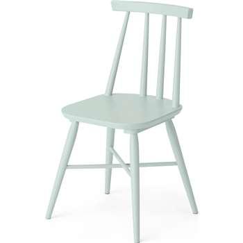 Bromley Dining chair, Mint (H82 x W46 x D49cm)