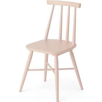 Bromley Dining chair, Pink (H82 x W46 x D49cm)