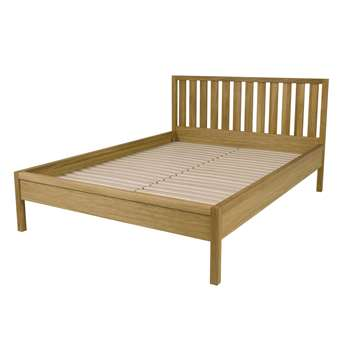 Brompton Oak Bed Frame Double (93 x 199 x 145cm)