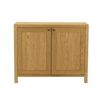 Brompton Oak Sideboard 80 x 100cm