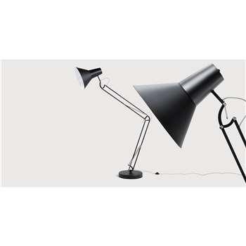Bronx Giant Floor Lamp, Matt Black (H175 x W80cm)