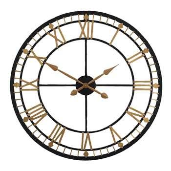 Bronze Round Clock (Diameter 80cm)