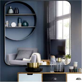 BROOKE Gold Metal Mirror (110 x 110cm)