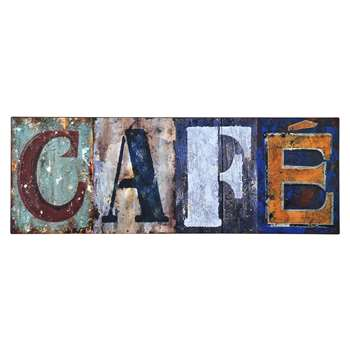 Brooklyn CAFE Typography Plaque (26 x 71cm)