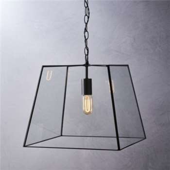 Brooklyn Large Pendant Light, Bronze (37 x 40cm)