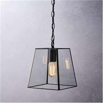 Brooklyn Small Pendant Light, Bronze (26 x 20cm)