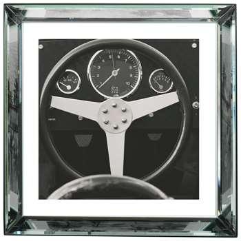 Brookpace, The Manhattan Collection - 1959 Porsche Framed Print (H57 x W57cm)