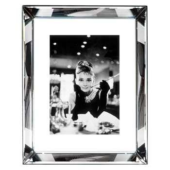 Brookpace, The Manhattan Collection - Audrey Hepburn Framed Print (H87 x W67cm)
