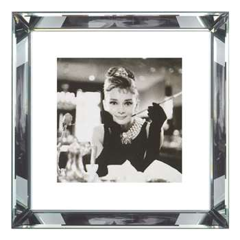 Brookpace, The Manhattan Collection - Breakfast at Tiffany's Framed Print (H46 x W46cm)