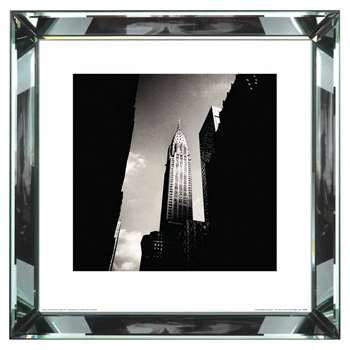 Brookpace, The Manhattan Collection - Chrysler Building Framed Print (H46 x W46cm)