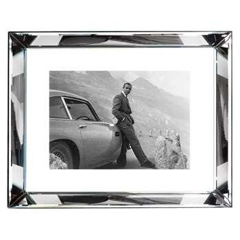 Brookpace, The Manhattan Collection - James Bond Aston Martin Framed Print (H67 x W87cm)