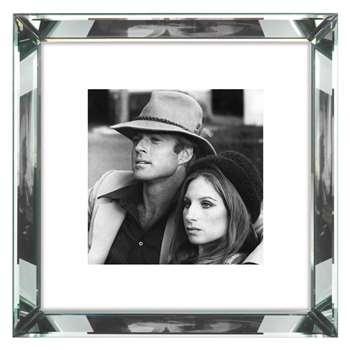 Brookpace, The Manhattan Collection - Robert Redford and Barbra Streisand Framed Print (H46 x W46cm)
