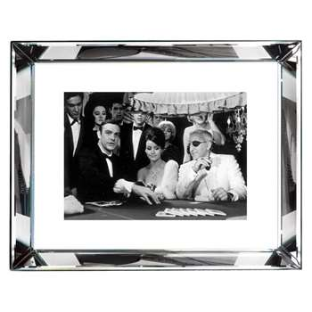 Brookpace, The Manhattan Collection - Thunderball Casino Framed Print (H67 x W87cm)