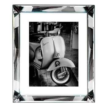 Brookpace, The Manhattan Collection - Vespa Ii Framed Print (H56 x W46cm)