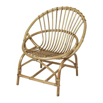 Broste Copenhagen - Frida Rattan Chair (Height 70cm)