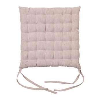 Broste Copenhagen - Leal Cotton Chair Pad - Rose Dawn (H40 x W40cm)