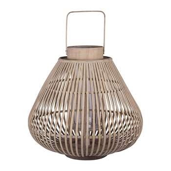 Broste Copenhagen - Sahara Bamboo Lantern - Large (38 x 44cm)