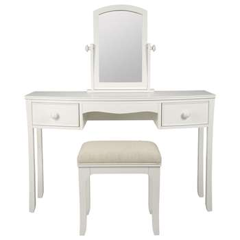 Broughton Ivory Dressing Table Set (57.5 x 46cm)