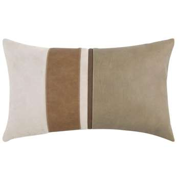 Brown, Beige and Taupe Cushion Cover (H30 x W50cm)