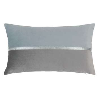 BRUSSEL - Brown and Grey Cushion Cover (H30 x W50cm)