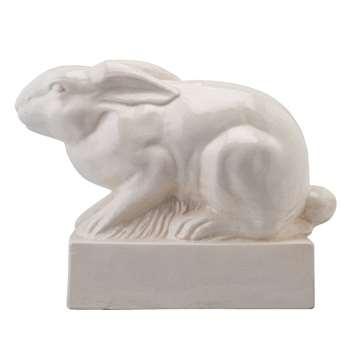 Buckthorn XL Ceramic Rabbit on Plinth (39 x 50cm)