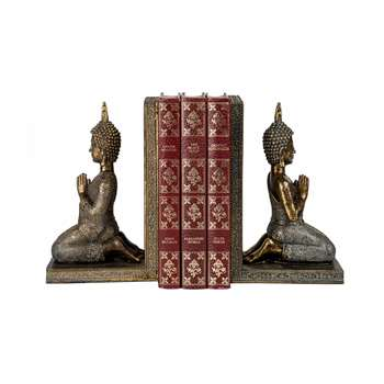 Buddha Bookend Set (20 x 9cm)