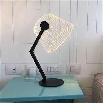 Bulbing - Ziggi Dimmable Lamp - by BULBING - Black (H42 x W22cm)