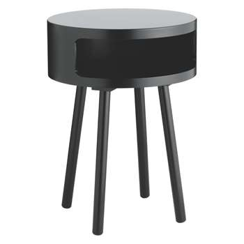 Bumble Black side table (Diameter 40cm)