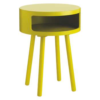 Bumble Yellow side table (Diameter 40cm)