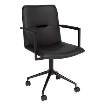 Bureau office chair black (88 x 52cm)