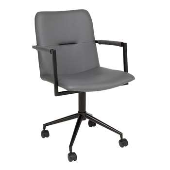 Bureau office chair grey (88 x 52cm)