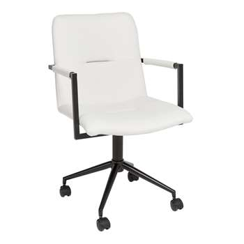Bureau office chair white (88 x 52cm)