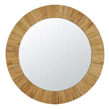 BURUNDI - Recycled Teak Mirror (Diameter 162cm)