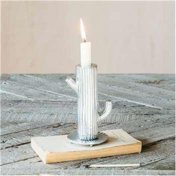 Cactus Candle Holder (H19.5 x W7.5 x D7.5cm)