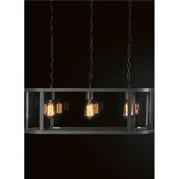 Cadogan Trio Light in Charcoal (25 x 76.5cm)